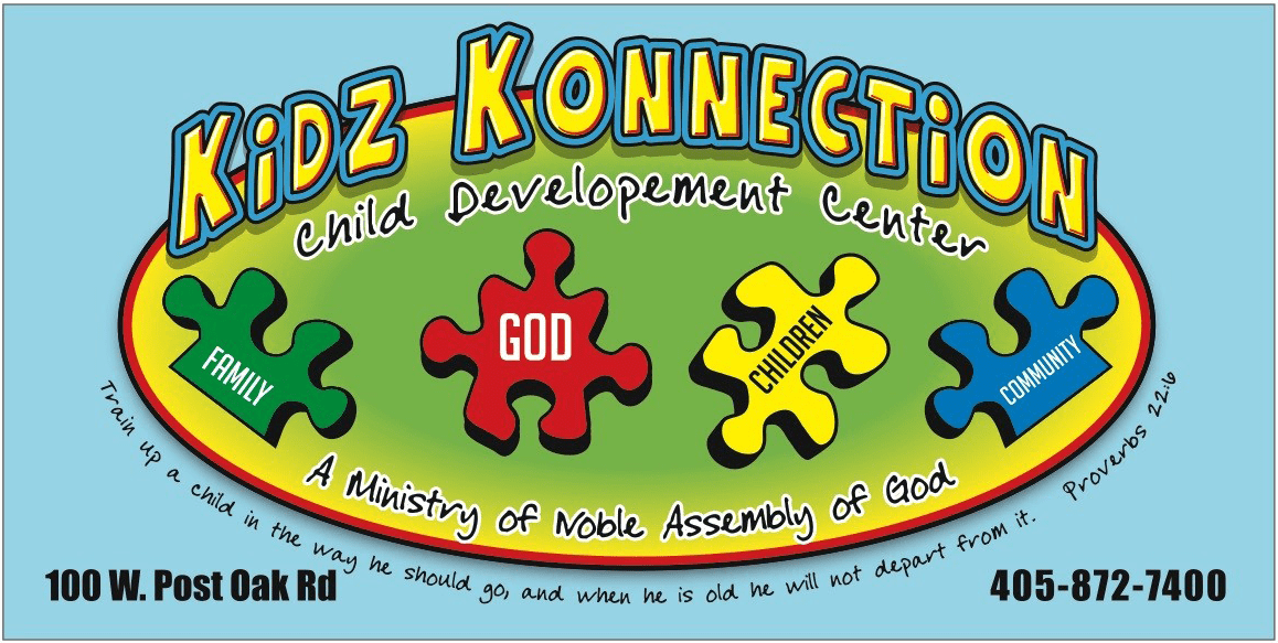 Kidz Konnection sign clean